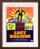 Lost Horizon, Top Center: Ronald Colman, 1937 Art