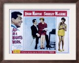 All in a Night&#39;s Work, Dean Martin, Shirley Maclaine, 1961 Poster