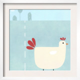 Chick on Farm Posters