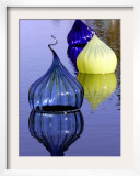 Onion Shaped Pieces of Blown Glass in Miami, Florida, December 3, 2005 Framed Photographic Print by Lynne Sladky