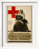 The Greatest Mother in the World, Red Cross Christmas Roll Call Dec. 16-23rd Posters by Alonze Earl Foringer