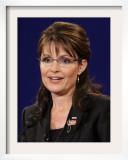 Sarah Palin, Vice Presidential Debate 2008, Oxford, MS Framed Photographic Print