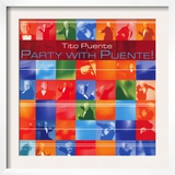 Tito Puente - Party with Puente! Print