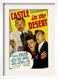 Castle in the Desert, Sidney Toler, Arleen Whelan, Douglass Dumbrille, 1942 Print