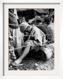 A Japanese Prisoner of War Framed Photographic Print