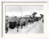 The Bataan Death March Framed Photographic Print