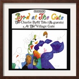 Charlie Byrd Trio - Byrd at the Gate Poster