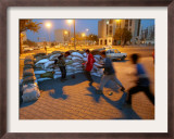 Iraqi Boys Play Soccer Framed Photographic Print