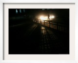 An Afghan Street Sweeper Works the Last Hours of the Day Framed Photographic Print by Rodrigo Abd