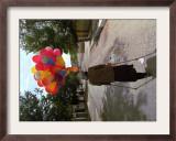 Teenage Boy, 16, Walks on a Kabul Street Framed Photographic Print