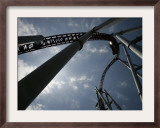 Storm Runner Rolleer Coaster at Hersheypark, Pennsylvania Framed Photographic Print by Carolyn Kaster