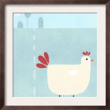 Chick on Farm Prints