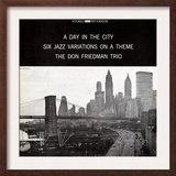 Don Friedman Trio - A Day in the City Posters