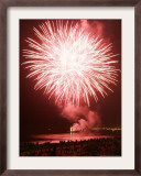 Fireworks Competition, Manila, Phillipines Framed Photographic Print by Aaron Favila