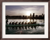 Special Editions Summer Dragon Boats, Portland, Oregon Framed Photographic Print by Don Ryan