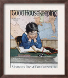 Good Housekeeping, October, 1928 Poster