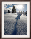 Snowy Landscape, Arosa, Switzerland Framed Photographic Print by Alessandro Della Bella