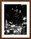 Bourbon Street in New Orleans Framed Photographic Print