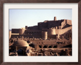 The Medieval Fortress of the 2,000 Year-Old City of Bam, Iran, September 2003 Framed Photographic Print by Franco Fracassi