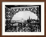 A Street in New Orleans Framed Photographic Print