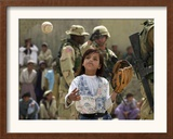 A Young Afghan Girl Named Hatira Framed Photographic Print