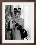 Her Husband's Affairs, Lucille Ball, 1947 Print