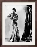 Constance Bennett in Evening Gown by Designer Adrian, 1935 Prints