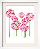 Pink Allium Posters by  Avalisa