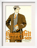 Knapp Felt, Magazine Advertisement, USA, 1910 Prints