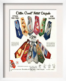 Cutter Cravat, Magazine Advertisement, USA, 1950 Poster