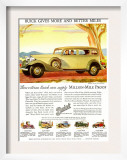 Buick Division of General Motors, Magazine Advertisement, USA, 1930 Posters