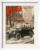 Buick Division of General Motors, Magazine Advertisement, USA, 1910 Print