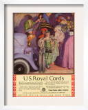 US Royal Cords, Magazine Advertisement, USA, 1924 Prints