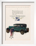 Buick, Magazine Advertisement, USA, 1927 Poster