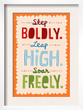 Step, Leap, Soar Poster