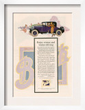 Buick, Magazine Advertisement, USA, 1925 Prints