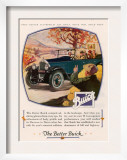 Buick, Magazine Advertisement, USA, 1925 Art