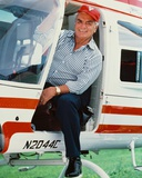 Ernest Borgnine - Airwolf Photo
