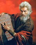 Charlton Heston - The Ten Commandments Photo