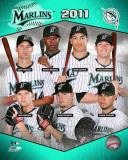 Florida Marlins 2011 Team Composite Photo