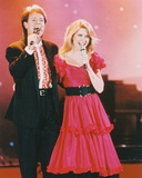 Cliff Richard & Olivia Ne Photo
