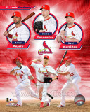 St. Louis Cardinals 2011 Triple Play Composite Photo