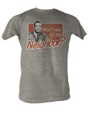 Mister Rogers' Neighborhood - Neighbor T-paita