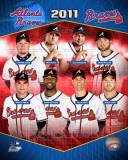Atlanta Braves 2011 Team Composite Photographie