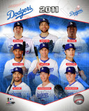 Los Angeles Dodgers 2011 Team Composite Photo