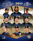 Milwaukee Brewers 2011 Team Composite Photo