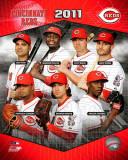 Cincinnati Reds 2011 Team Composite Photo