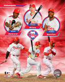 Philadelphia Phillies 2011 Triple Play Composite Photo
