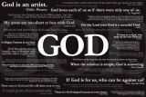 God Quotes Pósters