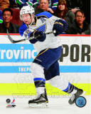 David Backes 2010-11 Action Photo